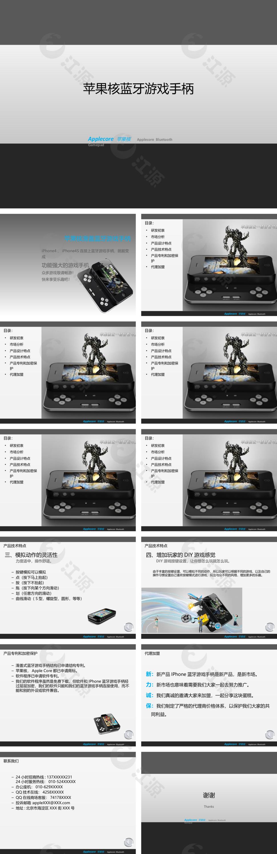 新产品宣传模板